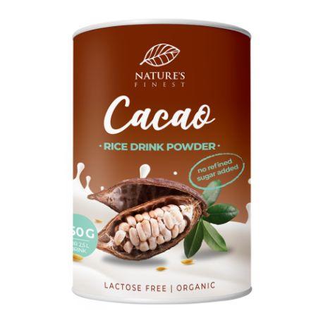 Bautura instant de orez cu cacao Eco x 250g Nature's Finest